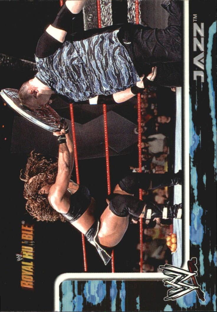 2002 Fleer WWF Royal Rumble #12 Jazz