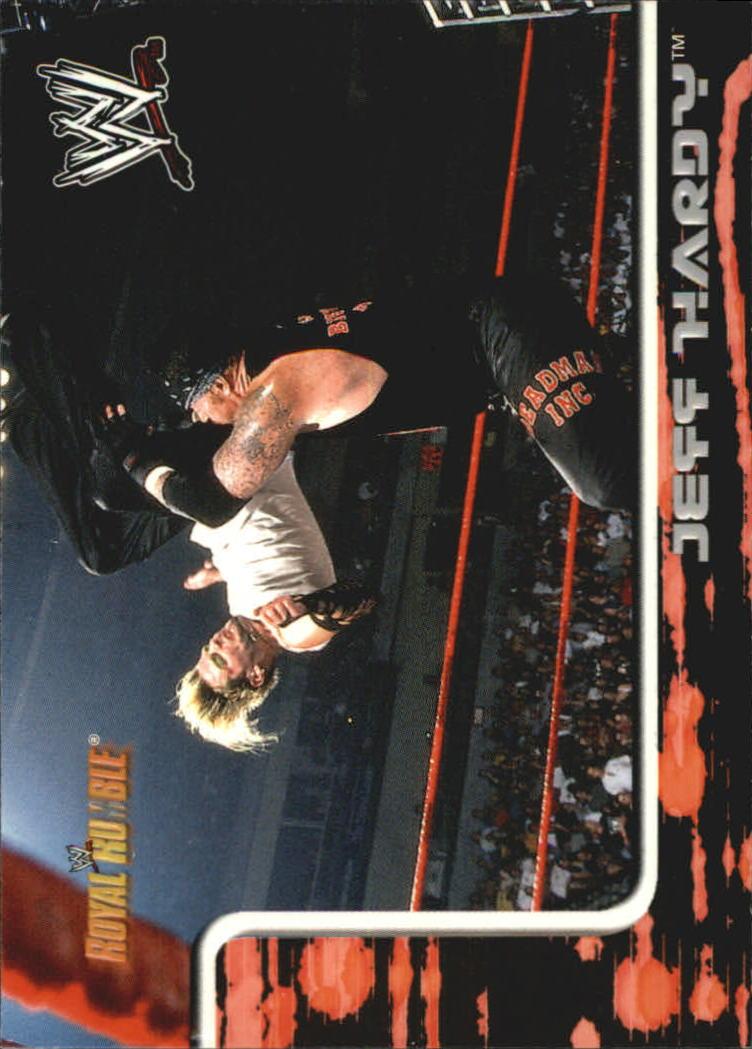 2002 Fleer WWF Royal Rumble #13 Jeff Hardy