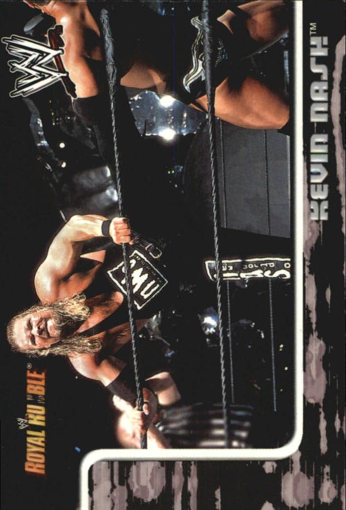 2002 Fleer WWF Royal Rumble #16 Kevin Nash