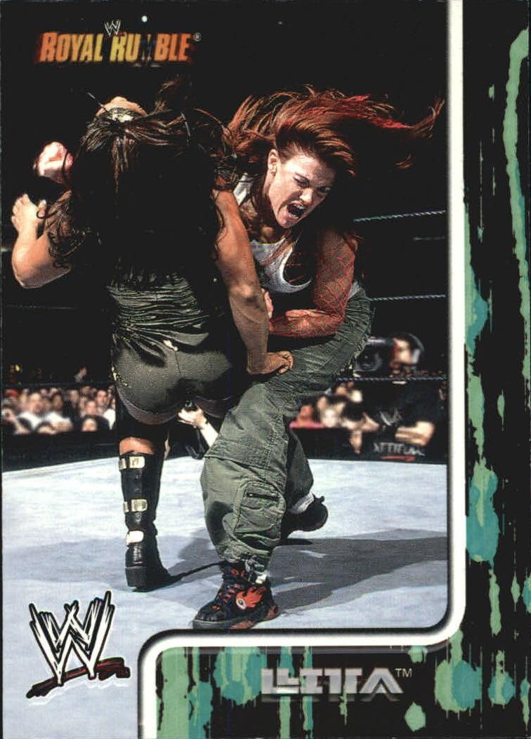 2002 Fleer WWF Royal Rumble #17 Lita