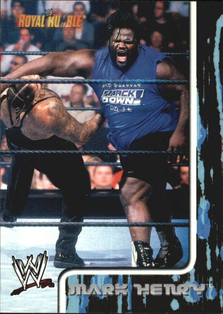 2002 Fleer WWF Royal Rumble #18 Mark Henry