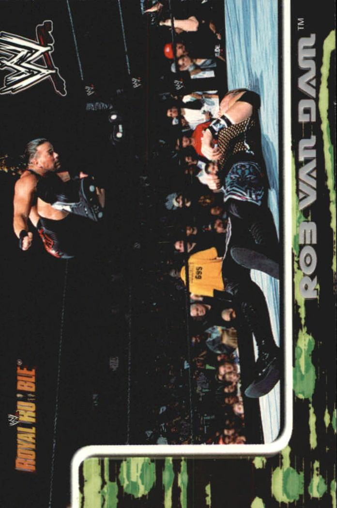 2002 Fleer WWF Royal Rumble #21 Rob Van Dam