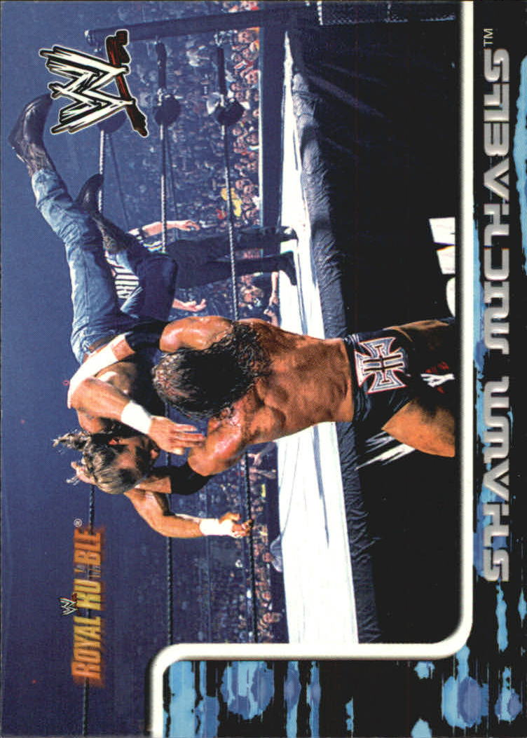 2002 Fleer WWF Royal Rumble #23 Shawn Michaels