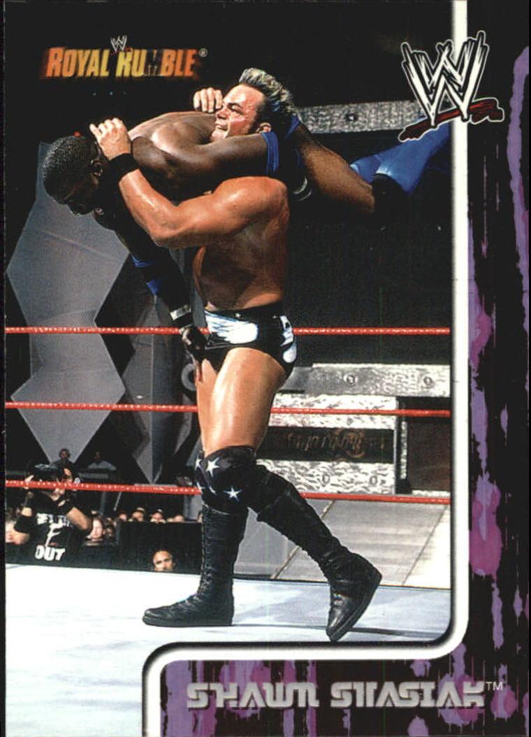 2002 Fleer WWF Royal Rumble #24 Shawn Stasiak