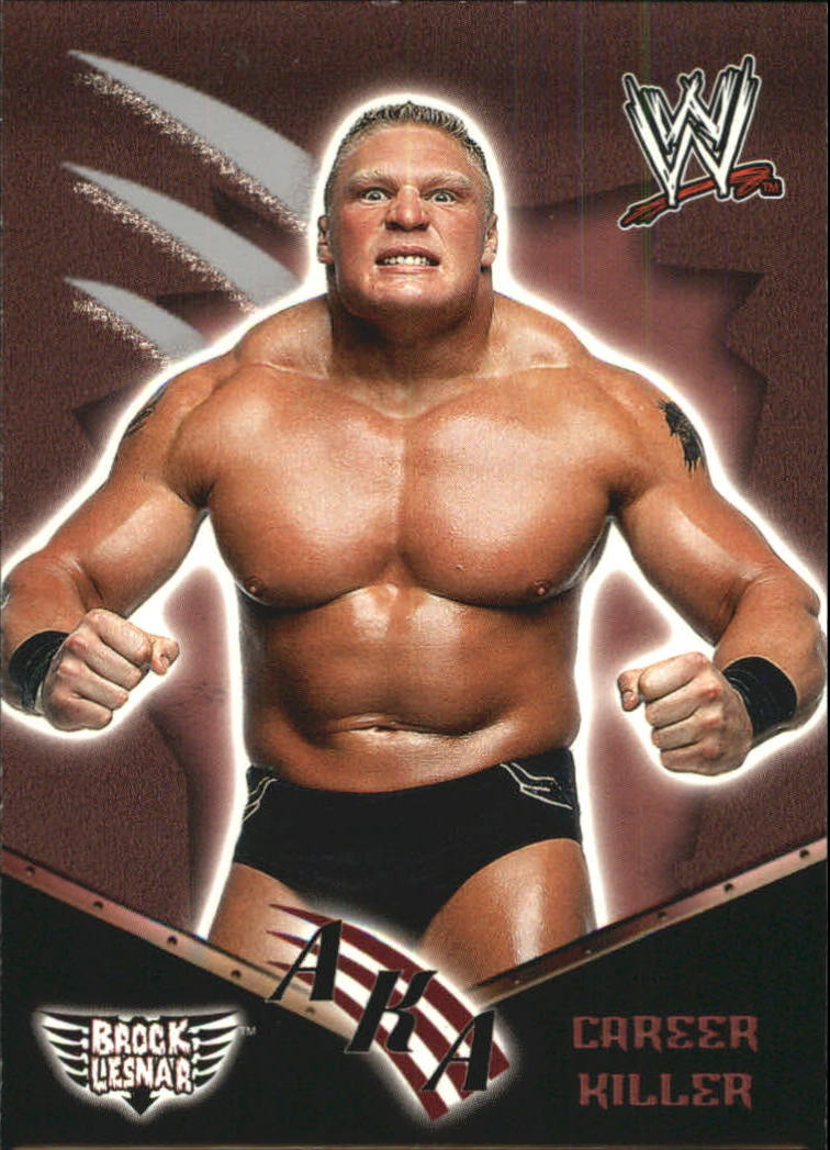 2002 Fleer WWF Royal Rumble #77 Brock Lesnar AKA