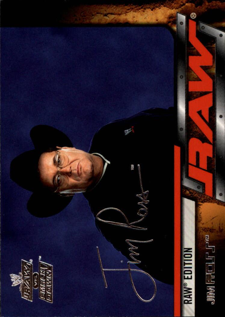2002 Fleer WWE Raw vs. Smackdown #5 Jim Ross