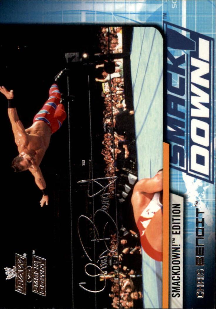 2002 Fleer WWE Raw vs. Smackdown #7 Chris Benoit