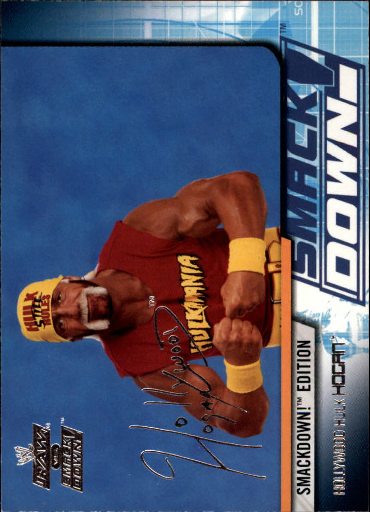 2002 Fleer WWE Raw vs. Smackdown #9 Hulk Hogan