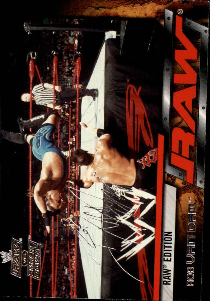 2002 Fleer WWE Raw vs. Smackdown #10 Rob Van Dam