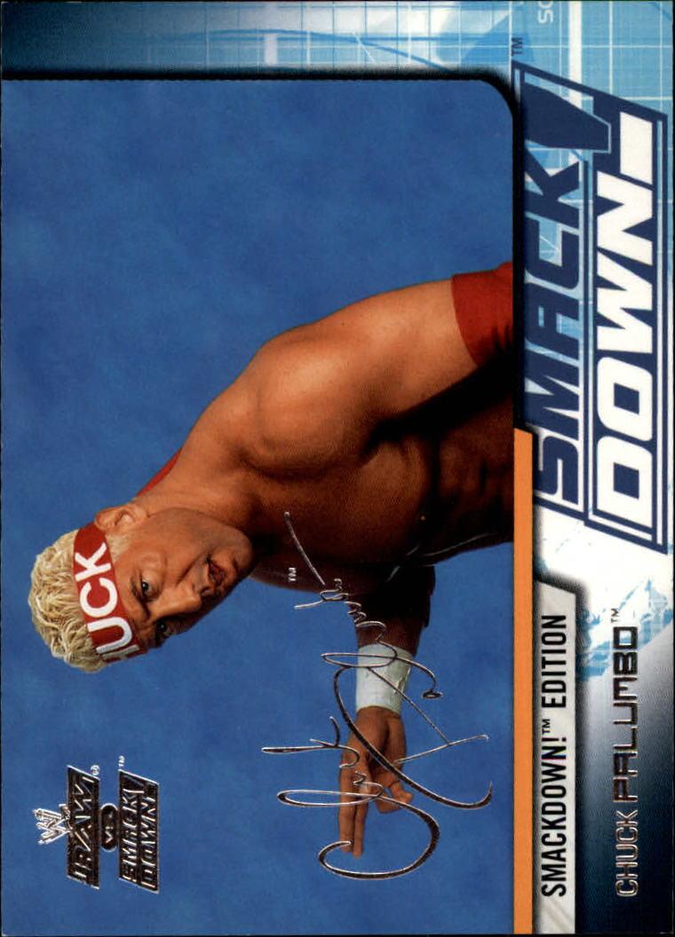 2002 Fleer WWE Raw vs. Smackdown #12 Chuck Palumbo