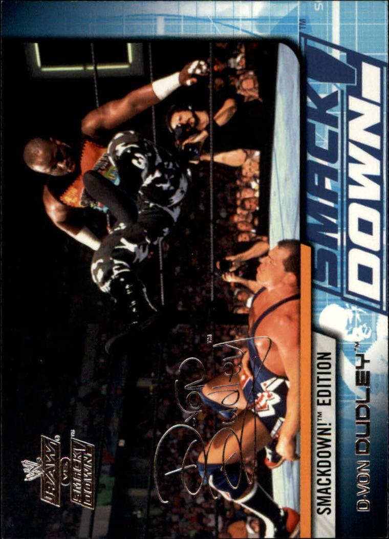 2002 Fleer WWE Raw vs. Smackdown #18 D-Von Dudley
