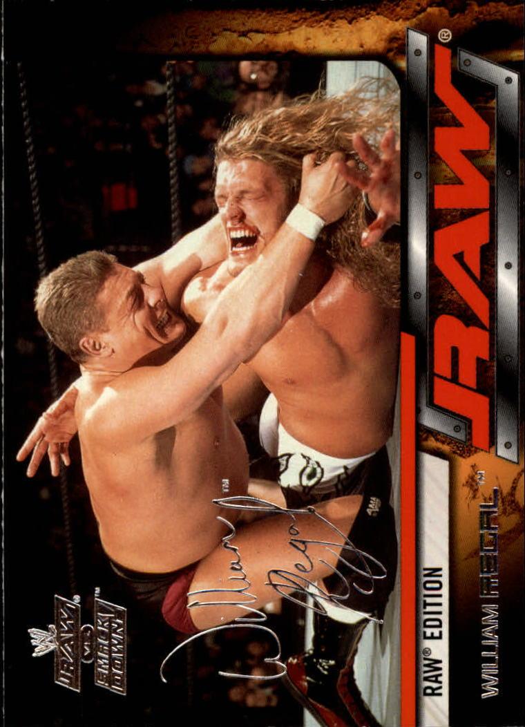 2002 Fleer WWE Raw vs. Smackdown #21 William Regal