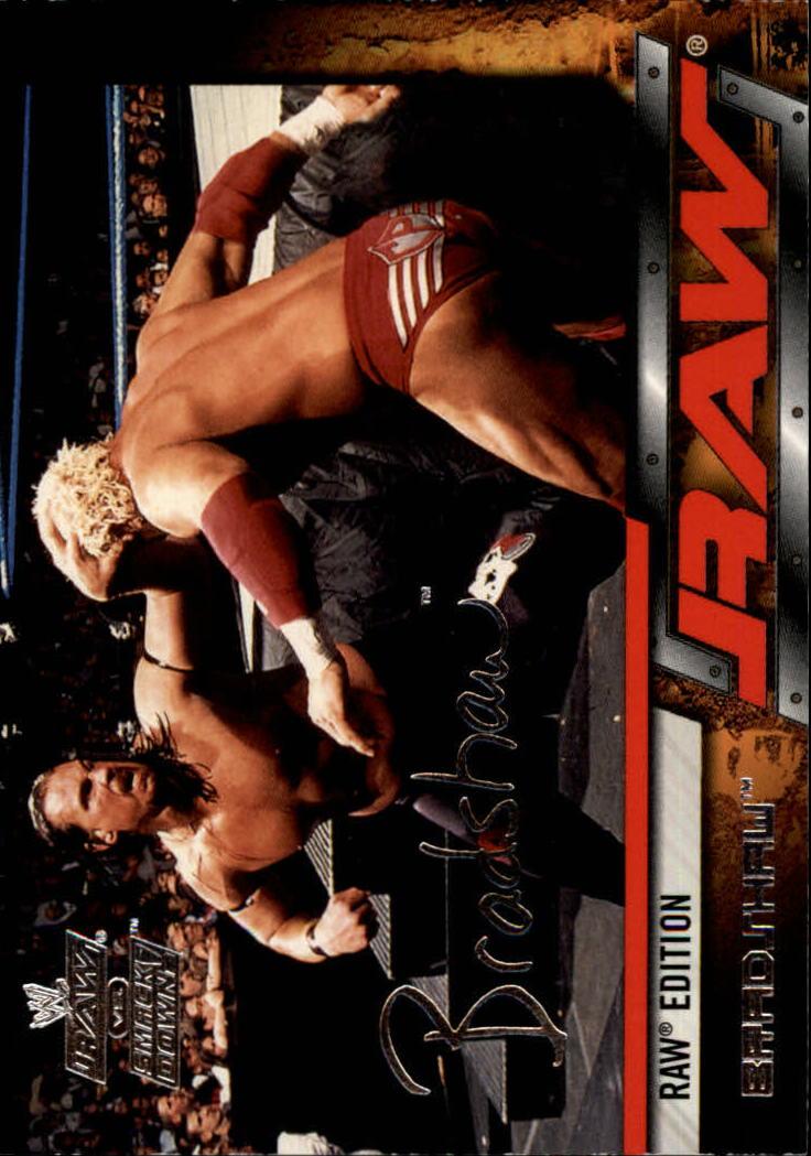 2002 Fleer WWE Raw vs. Smackdown #25 Bradshaw