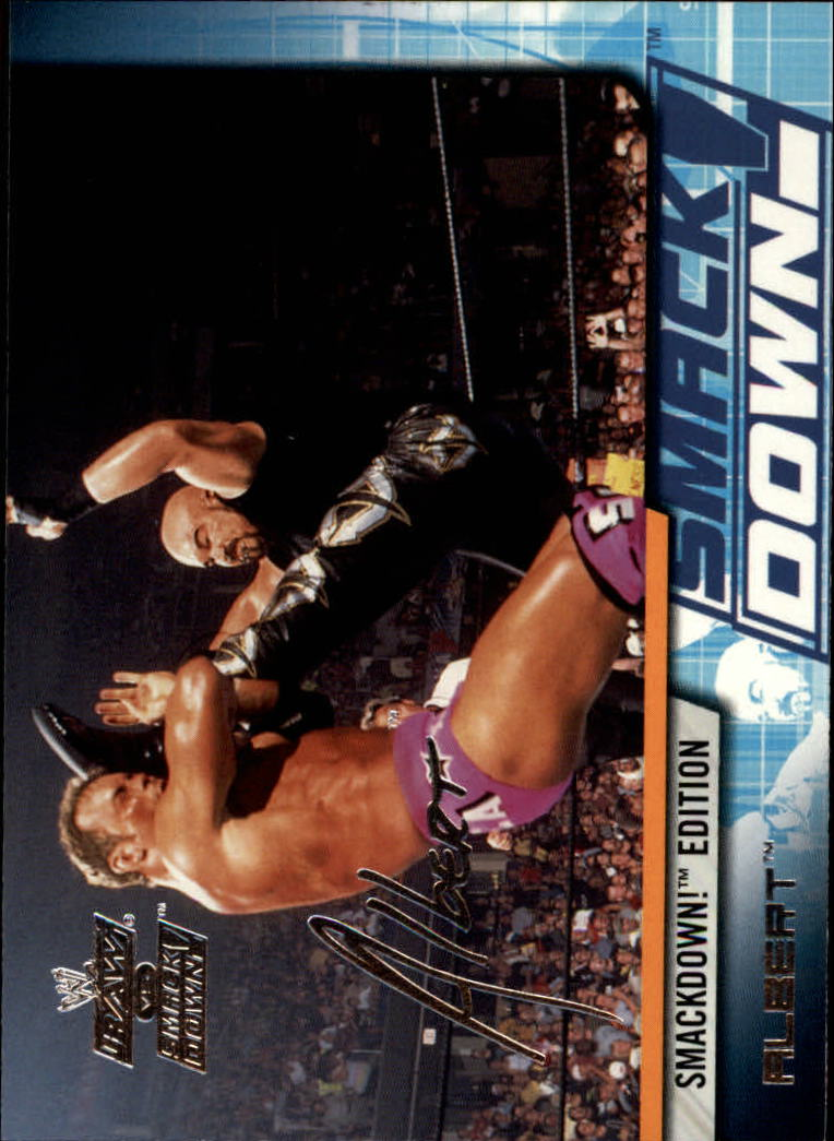 2002 Fleer WWE Raw vs. Smackdown #32 Albert