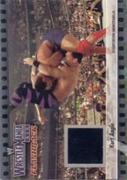 2003 Fleer WWE WrestleMania XIX Flashbacks #3 Kurt Angle