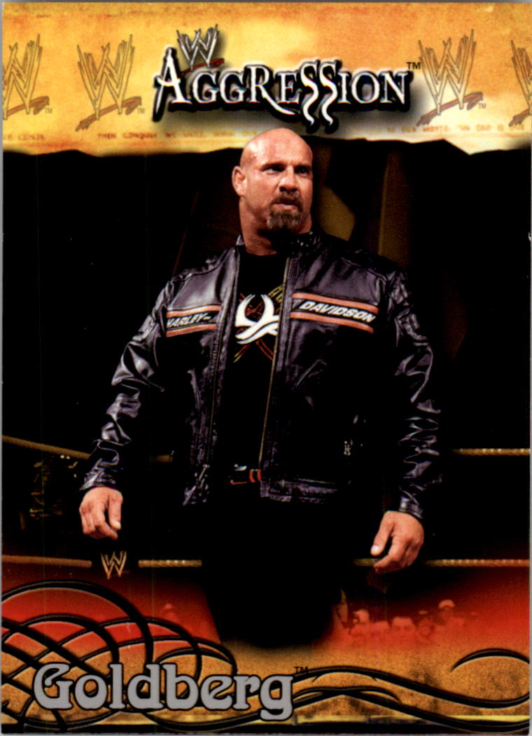 2003 Fleer WWE Aggression #1 Goldberg