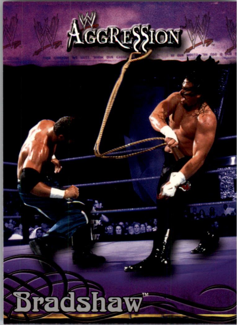 2003 Fleer WWE Aggression #4 Bradshaw