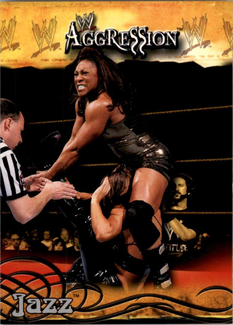 2003 Fleer WWE Aggression #15 Jazz