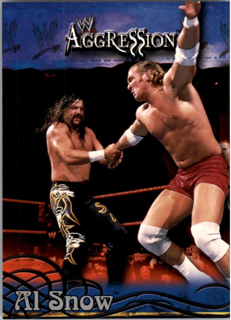 2003 Fleer WWE Aggression #21 Al Snow