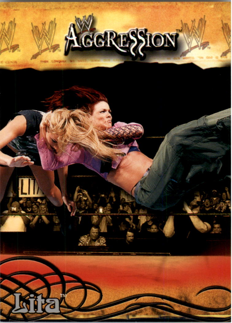 2003 Fleer WWE Aggression #22 Lita