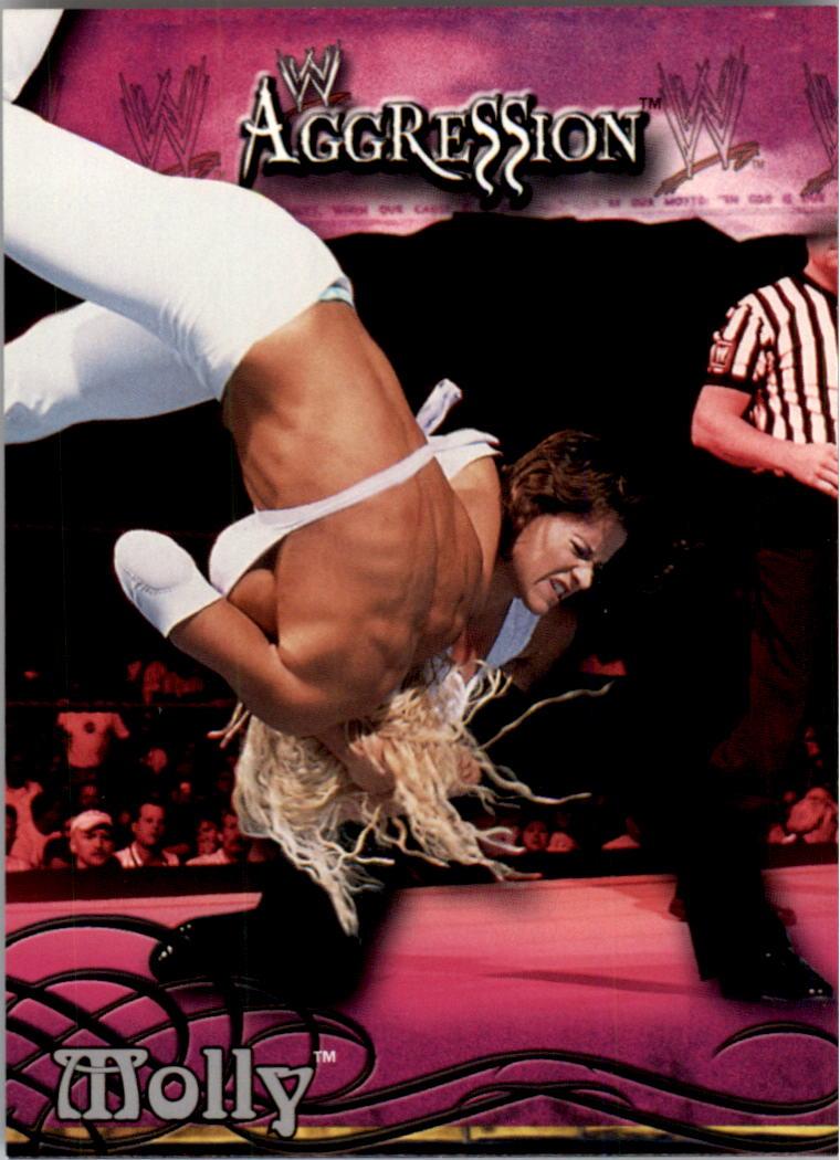 2003 Fleer WWE Aggression #24 Molly