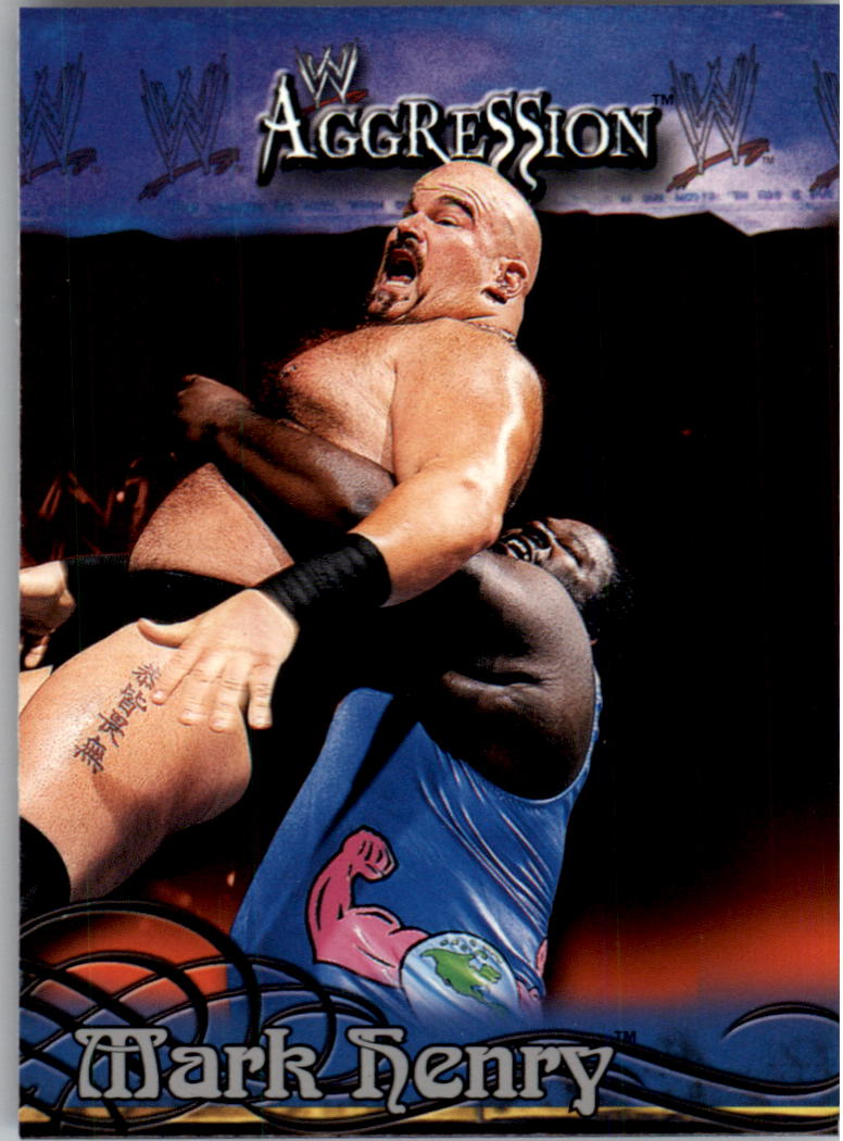 2003 Fleer WWE Aggression #62 Mark Henry