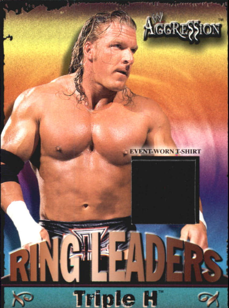 2003 Fleer WWE Aggression Ring Leaders Event Used #RLTH Triple H