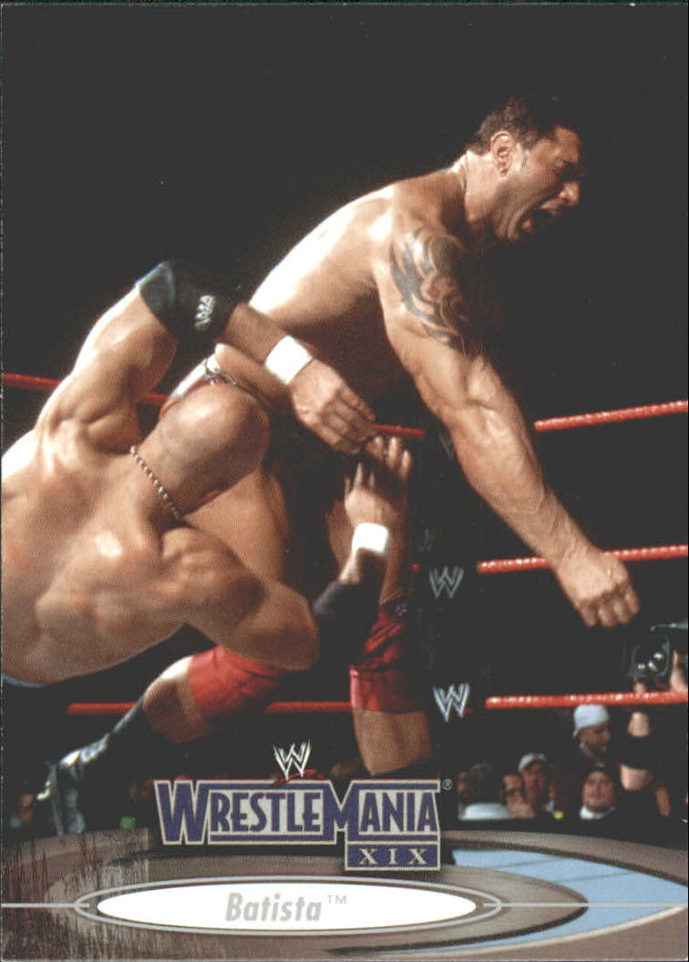 2003 Fleer WWE WrestleMania XIX #5 Batista