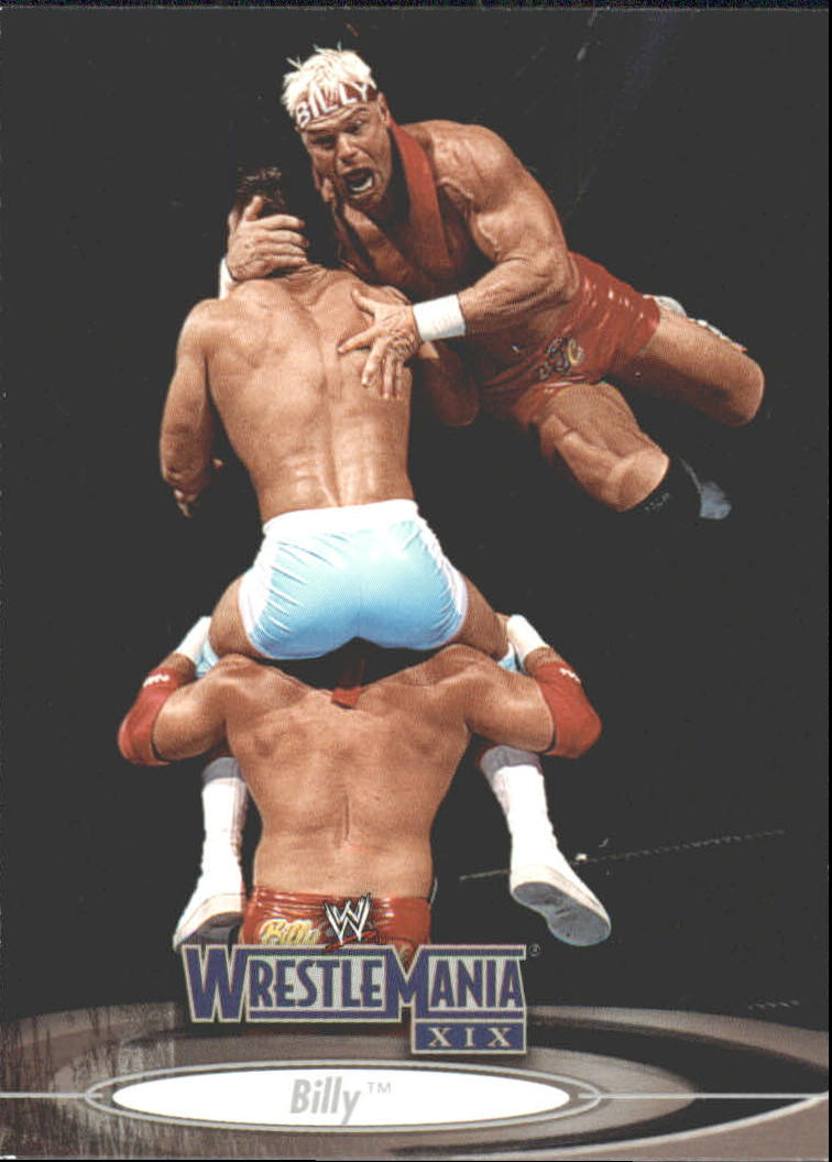 2003 Fleer WWE WrestleMania XIX #8 Billy