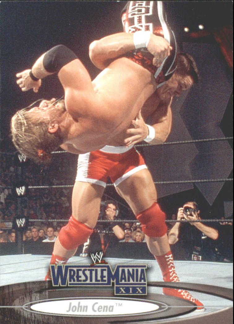 2003 Fleer WWE WrestleMania XIX #12 John Cena
