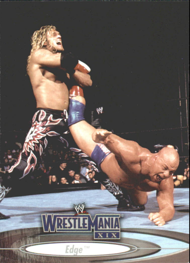 2003 Fleer WWE WrestleMania XIX #19 Edge