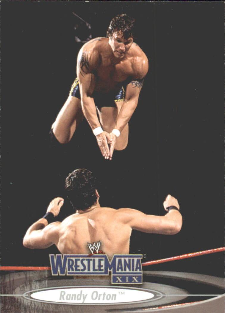 2003 Fleer WWE WrestleMania XIX #44 Randy Orton
