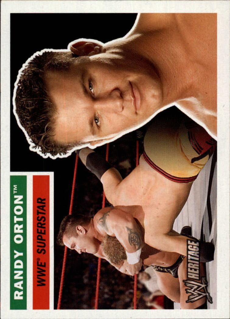 2005 Topps Heritage WWE #48 Randy Orton