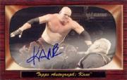 2005 Topps Heritage WWE Autographs #17 Kane