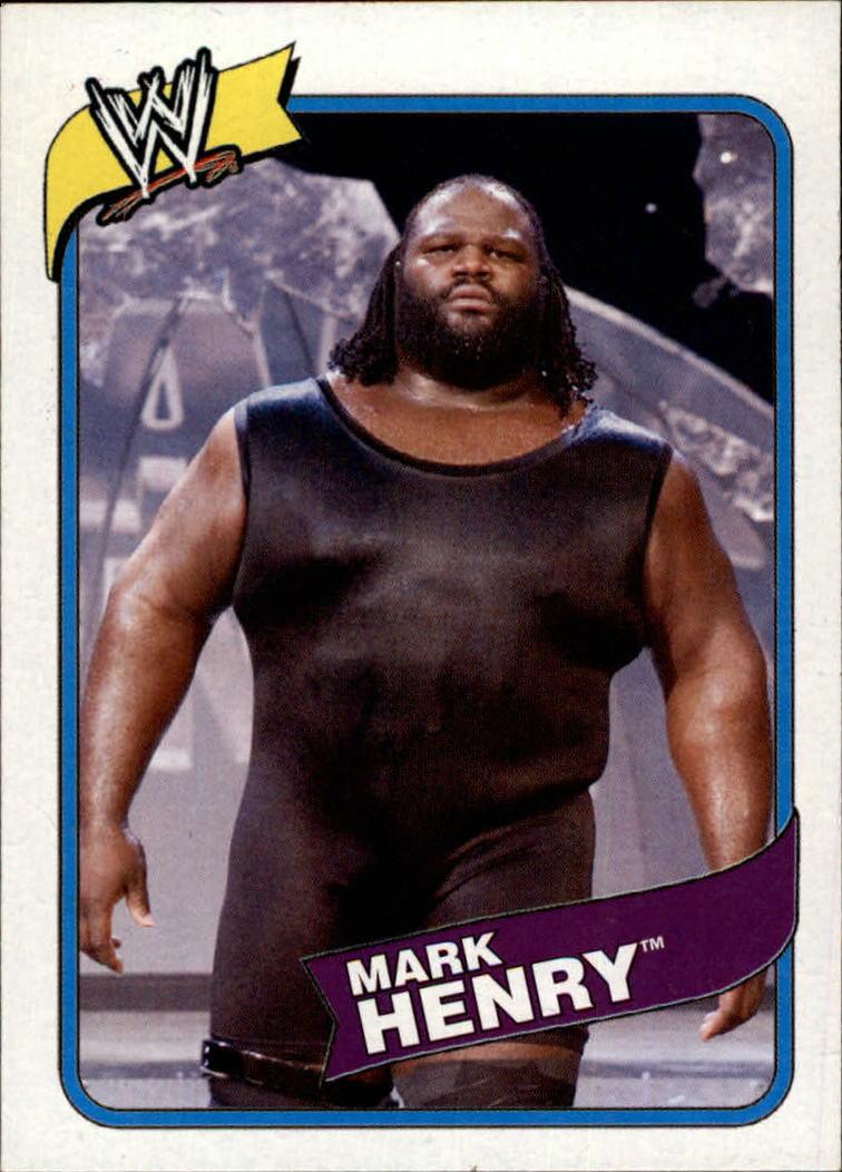 2007 Topps Heritage III WWE #20 Mark Henry