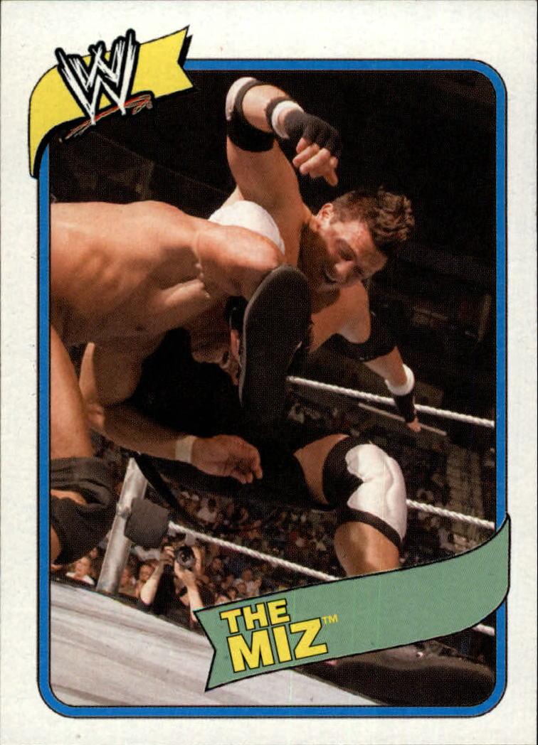 2007 Topps Heritage III WWE #35 Miz