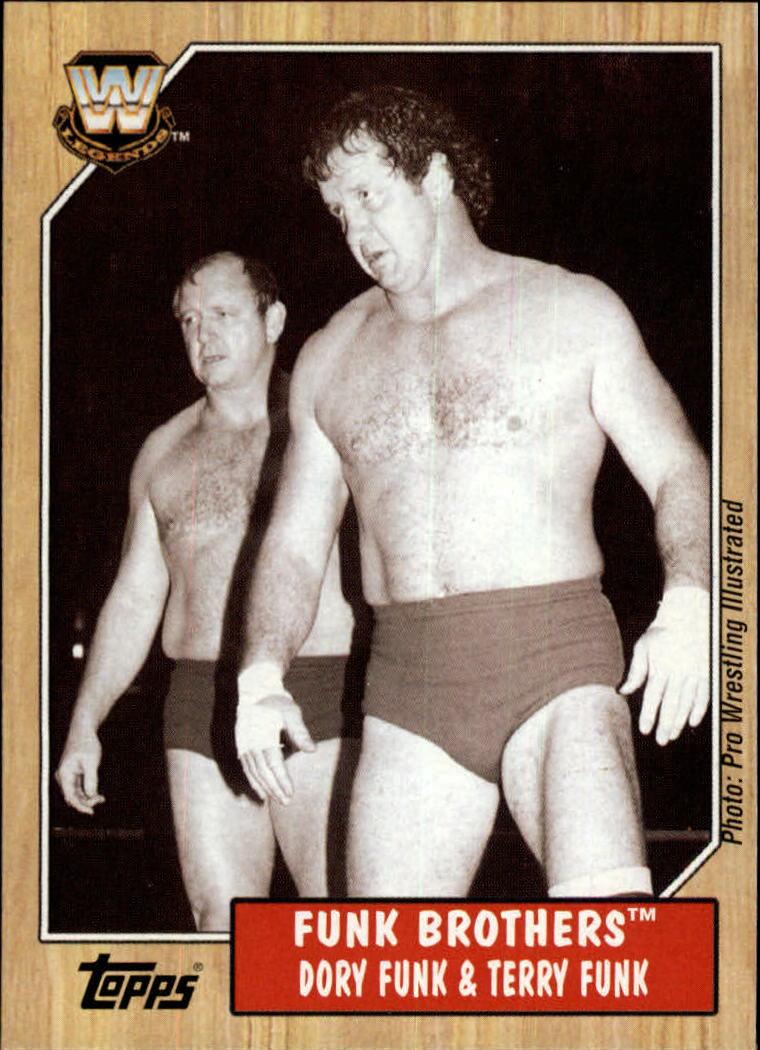 2007 Topps Heritage III WWE #73 Dustin Funk/Terry Funk