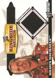 2006 Topps Heritage II WWE Ringside Relics #SM Shawn Michaels