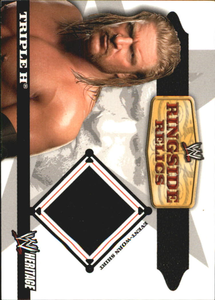 2006 Topps Heritage II WWE Ringside Relics #TH Triple H