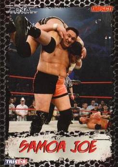 2008 TriStar TNA Impact #3 Samoa Joe
