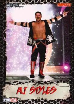 2008 TriStar TNA Impact #4 A.J. Styles