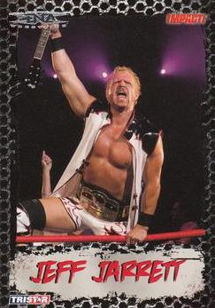 2008 TriStar TNA Impact #8 Jeff Jarrett