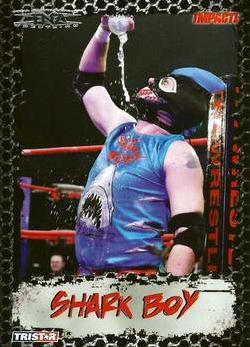 2008 TriStar TNA Impact #18 Shark Boy