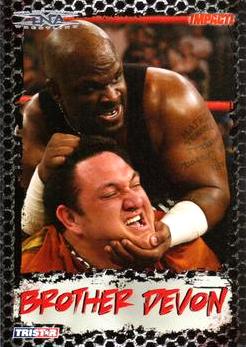 2008 TriStar TNA Impact #23 Brother Devon