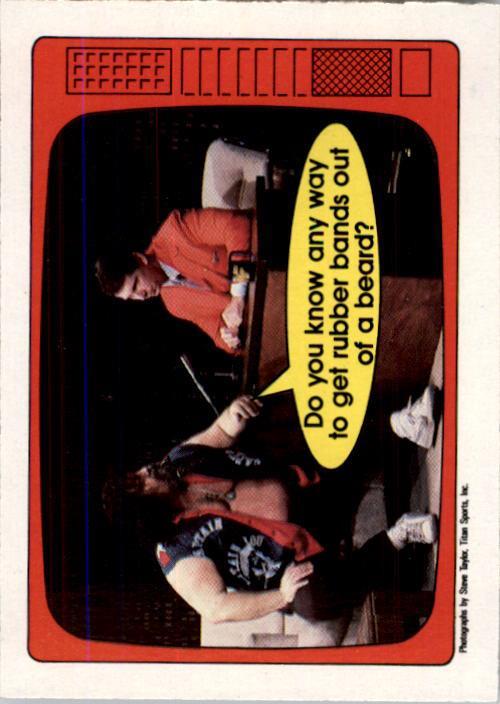 1985 O-Pee-Chee WWF Series 2 #55 Albano/McMahon