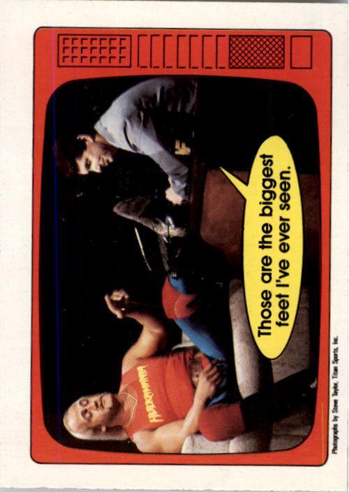 1985 O-Pee-Chee WWF Series 2 #56 Hogan/McMahon