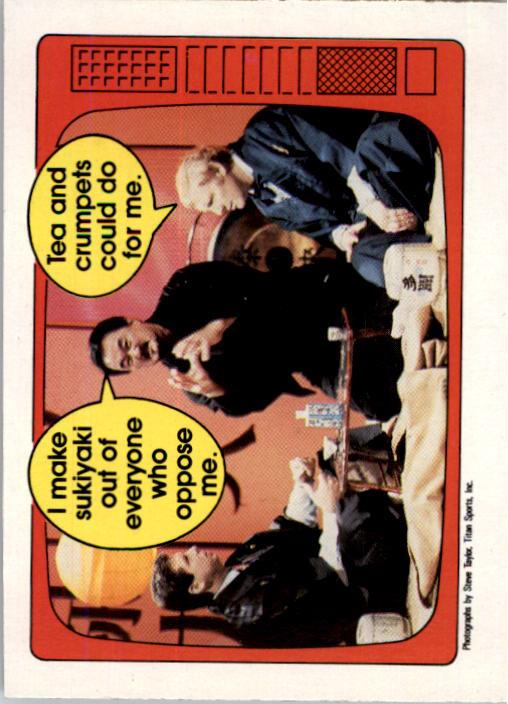 1985 O-Pee-Chee WWF Series 2 #57 McMahon/Fuji