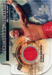2002 Fleer WWE Raw vs. Smackdown Smackdown Authentics #1 Billy Gunn