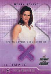 2002 Fleer WWE Raw vs. Smackdown Ultimate Exposure #3a Molly Swimsuit