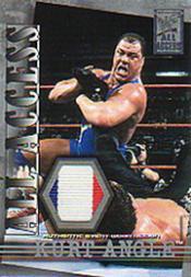 2002 Fleer WWF All Access All Access Memorabilia #AAMKA Kurt Angle